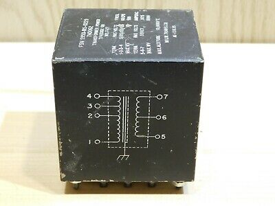 Milwaukee Transformer Company potted vacuum tube plate transformer 550VCT