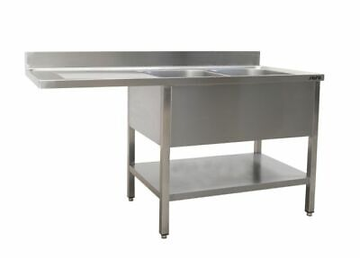 Saro Washing Station with 2 Sink, Right - 700 mm Depth, 1600mm