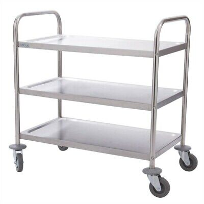 Vogue Clearing Trolley 3 Floors Small Kitchen Trolley Kitchen Trolley Trolley