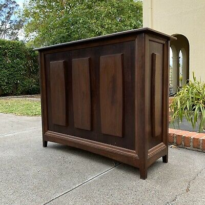 Fantastic original Mid Century timber bar PARKER FLER Era