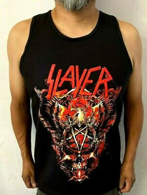 SLAYER BIG SKULL METAL ROCK MEN's TANK TOP SIZES