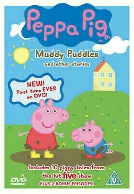 Peppa Pig: Muddy Puddles and Other Stories - UK Region 2 DVD - Neville Astley