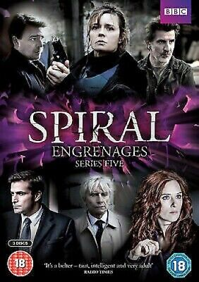 Spiral: Series Five - UK Region 2 DVD - Gregory Fitoussi