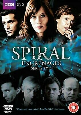 Spiral: Series Two - UK Region 2 DVD - Gregory Fitoussi