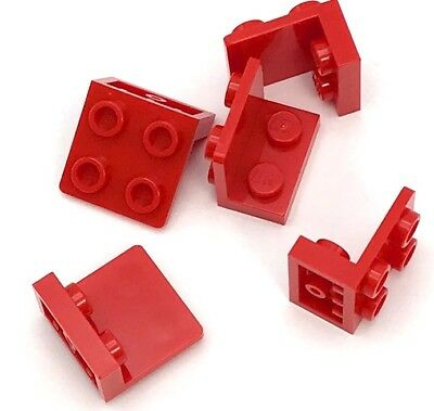 Lego 50 New Red Bracket 1 x 2-2 x 2 Inverted Pieces