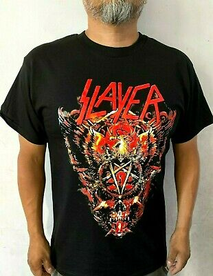 SLAYER  BIG SKULL ROCK MEN's T SHIRT SIZES