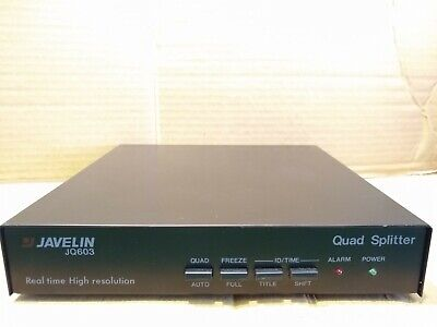 Javelin JQ603 Real Time High Resolution Quad Splitter