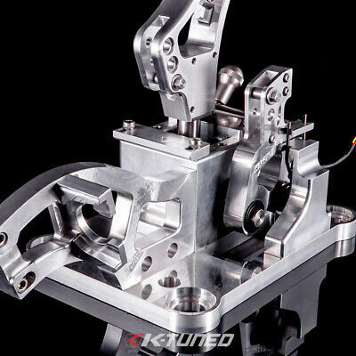 K-Tuned Race-Spec Billet Shifter Pro Shift Cut w/ Lockout for 2002-06 Acura RSX