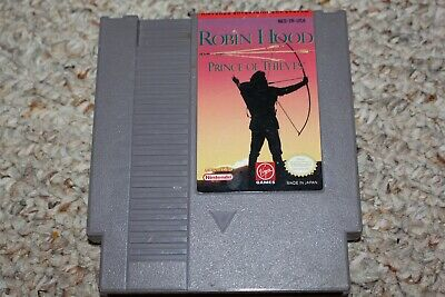 Robin Hood Prince Of Thieves (Nintendo Entertainment System NES) Cart Only GREAT