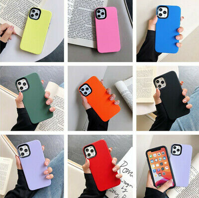 Shockproof Matte Candy Color Hard Back Phone Case Cover For iPhone 11 Pro Max 11