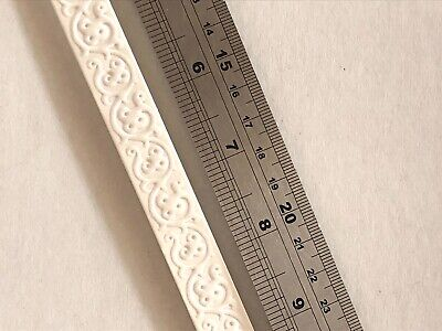 Dollhouse Miniature Faux Plaster Ceiling//Wall Trim Molding by World Model