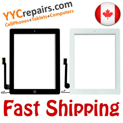 Apple iPad 4 4th Gen Glass Touch Screen Digitizer Replacement A1460 A1459 + Home