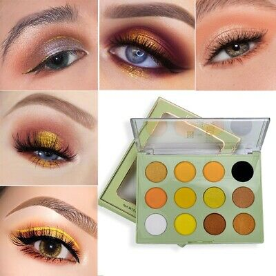 12 Colors Shimmer Matte Eye Shadow Eyeshadow Palette Pro Cosmetic Makeup Tool