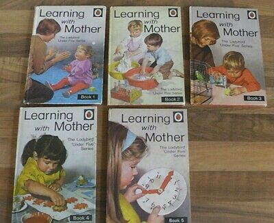 Set of 10 Assorted Vintage Ladybird Books ID:07349 Various - 1111