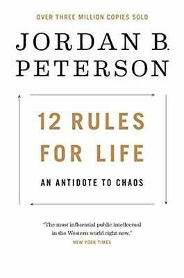12 Rules for Life: An Antidote to Chaos (Hardcover) by Jordan B. Peterson