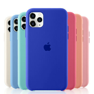 For Apple iPhone 11 Pro max Original Silicone Genuine Luxury Case Cover