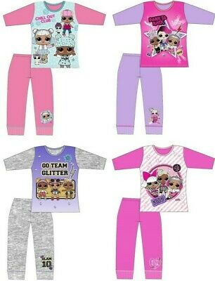 Girls LOL Surprise Dolls Pyjamas Age 4-5 / 5-6 / 7-8 / 9-10 Years Official PJs
