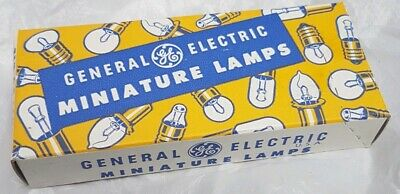 Job Lot 50 Vintage General Electric No. PR12 Miniature