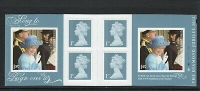 Great Britain 2012 1st Class self adhesive booklet UM (MNH) as issued