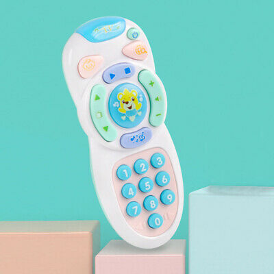 Baby toys music mobile phone remote control educational toys learning toy W5H