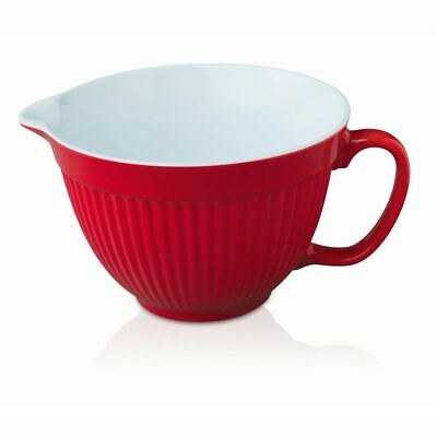 Zeal Mixing Bowl/Jug (20cm) Red (Pack of 3)