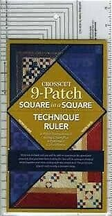 Regolo Patchwork Crosscut Square in a Square