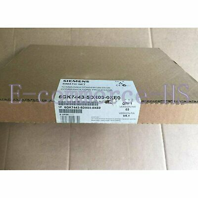 1PC New Siemens 6GK7 443-5DX03-0XE0 Communication Processor 6GK7443-5DX03-0XE0