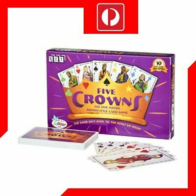 Five crown Card Game Funny Party Game