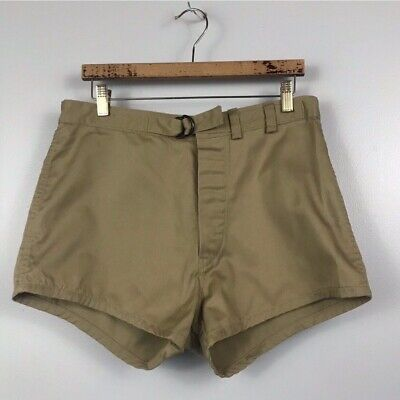 Vintage Navy Seals Shorts / Cotton Military Short Swimming Trunks / Men's L/XL