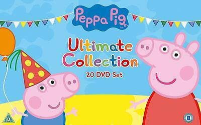 Peppa Pig - The Ultimate Collection [20 Dvd] New & Sealed