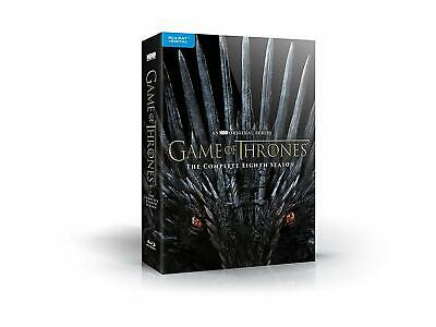 Game of Thrones: Season 8 PRE ORDER Release 12/3/19 DVD TV Show Blue Ray
