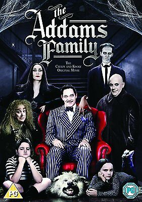 The Addams Family - UK Region 2 DVD - Raul Julia/Angelica Huston/Christina Ricci