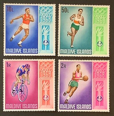 Maldives. Mexico Olympic Games. SG294/97. 1968. MNH. (D91)