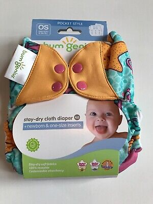 Bumgenius Marie Cloth Diaper Pocket 4.0 NIP