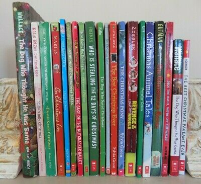 Lot 20 Christmas Chapter Books for Boys and Girls
