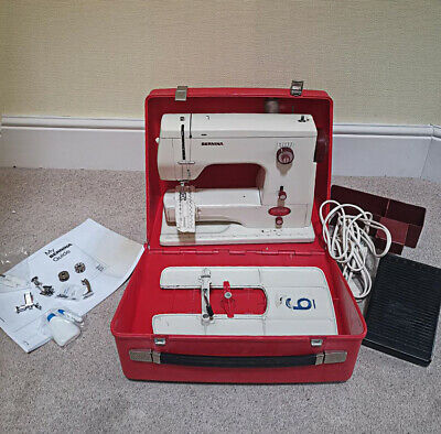 Serviced Bernina 808 Zig-Zag With Carry Case, Manual And Various Accessories