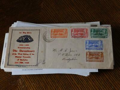 (4606) Bundle Of Commonwealth F.d.c & Covers Early Onward