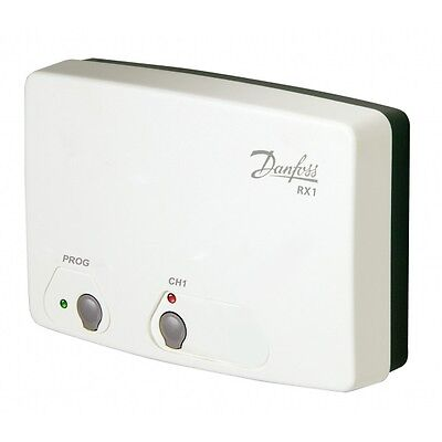 Danfoss RX1 Radio Frequency RF Single Channel Receiver for Wireless Thermostat q