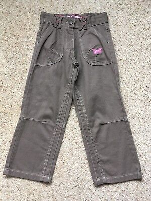 Little Girls Cotton Trousers From Farfelune  Age 3 Years  Ex Cond