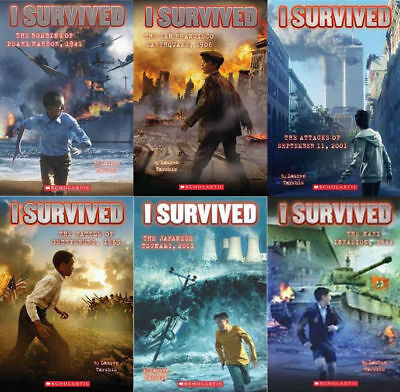 I SURVIVED SERIES (10 Book Set) (NEW-SC) #3-11 w/ 5 Epic Stories HC--L. Tarshis