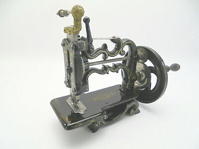 Antique Weir / Raymond 'New England' Chainstitch Sewing Machine c1860s