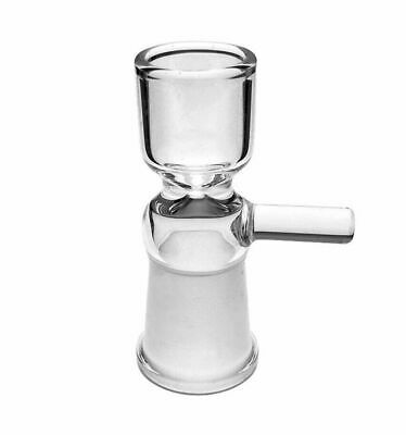 14mm / 18mm Female Joint Glass Slide Bow With Handle - U.S.A Fast Free Shipping
