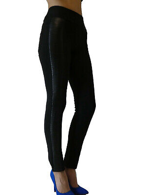 Hochbund Bauchweg Leggings Thermo Damen Stretch Hose Leggings Winter 36-40