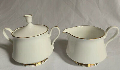 Lenox OXFORD Bone China ANDOVER Creamer and Sugar Bowl Set