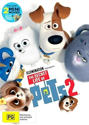 The Secret Life Of Pets 2 : Aus Stock : NEW DVD : ##Tuesday SALE##