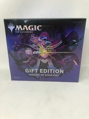 MTG Magic Throne of Eldraine Bundle Holiday Gift Edition Box Collector Ships Now