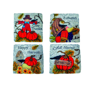 Harvest Stepping Stones Pack Of 4