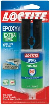 Loctite  Extra Time  High Strength  Liquid  Epoxy  0.85 oz.