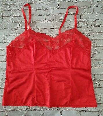 Vintage Red Camisole