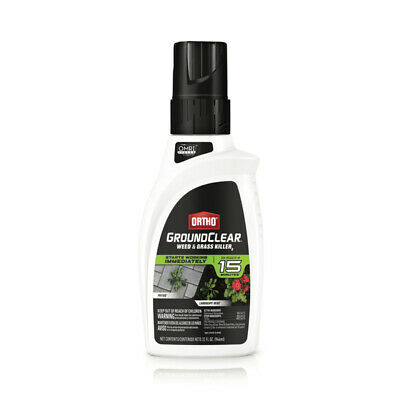 Ortho  GroundClear  Weed and Grass Killer  Concentrate  32 oz.